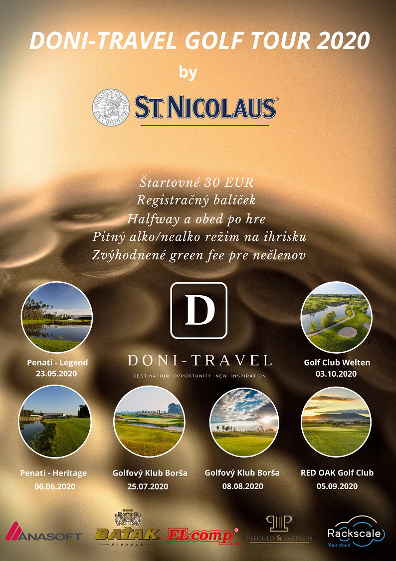 DONI - Travel Golf Tour 2020 by St. Nicolaus